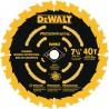 """DISCO ALTA PRECISIÓN 7.1/4"""" X 40 - 5/8"""" DEWALT DW3194"""